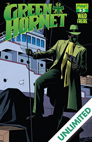 The Green Hornet #5: Digital Exclusive Edition